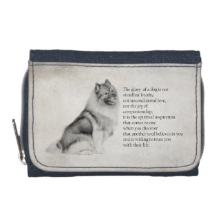 Keeshond Wallet