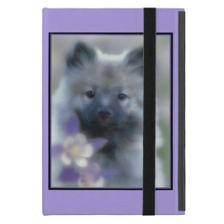Keeshond with Columbine Cover For iPad Mini