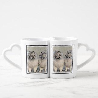 Keeshonds Coffee Mug Set