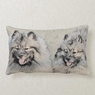 Keeshonds Lumbar Pillow