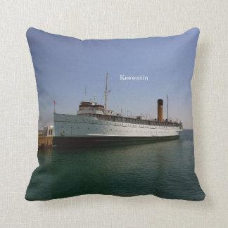 Keewatin square pillow