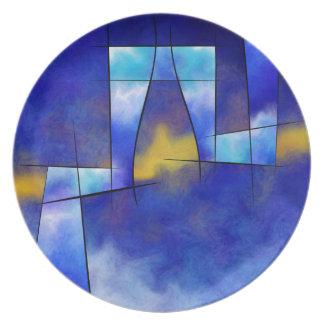 Kefharia V1 - cubic vision Dinner Plates