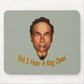 Keg Open Mouse Pad