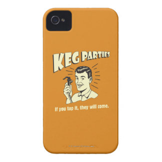 Keg Parties: If Tap It They'll Come iPhone 4 Case