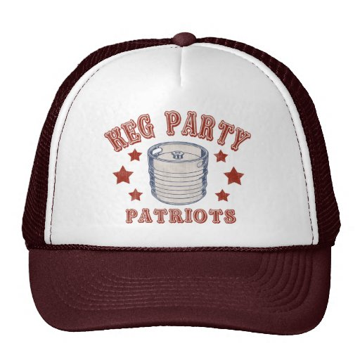 Keg Party Patriots Trucker Hat