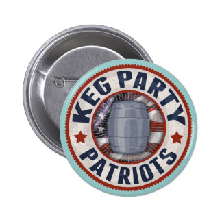 Keg Party Patriots II 6 Cm Round Badge