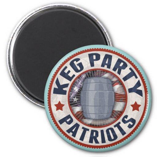 Keg Party Patriots II Magnets