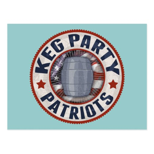 Keg Party Patriots II Post Cards