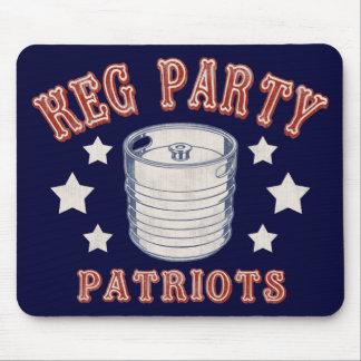 Keg Party Patriots Mouse Pad