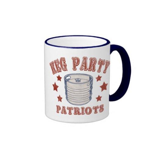 Keg Party Patriots Mug