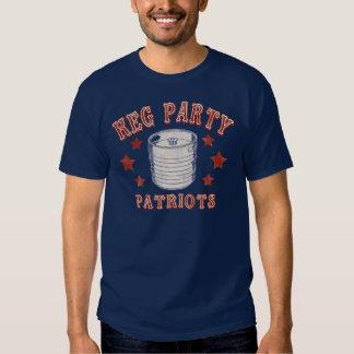Keg Party Patriots T-shirt