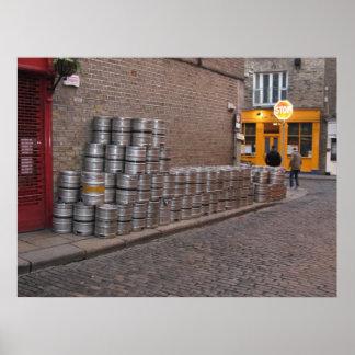Kegs of Dublin Poster