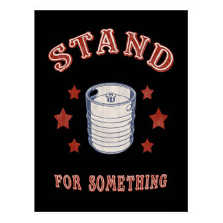 Kegstand For Something Postcard