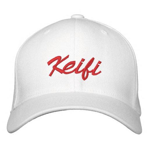 Keifi Red Baseball Cap