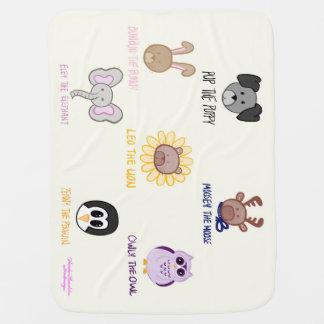 Keiki Aloha Baby Ani-friend-imals Baby Blanket