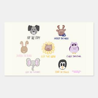 Keiki Aloha Baby Ani-friend-imals Sticker Decal
