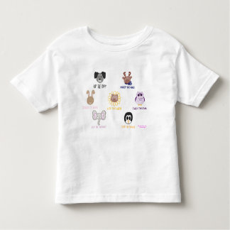 Keiki Aloha Baby Ani-friend-imals Toddler T-Shirt