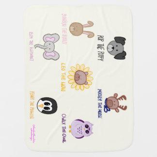 Keiki Aloha Baby Leo Ani-friend-imals Baby Blanket