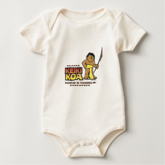 Keiki Koa (Kid Warrior) full-color Baby Bodysuit