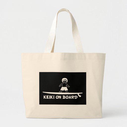 Keiki On Board.JPG Canvas Bags