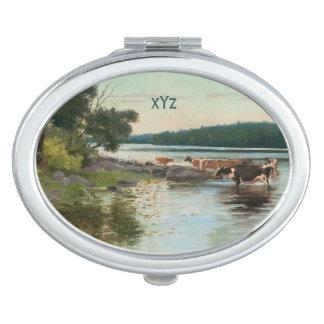 Keinänen's Lake View pocket mirror Mirrors For Makeup