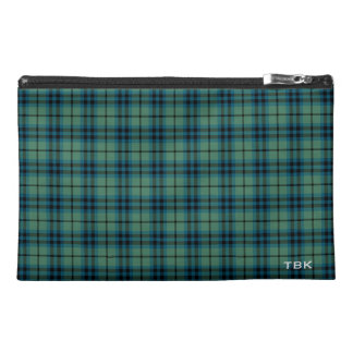 Keith Clan Ancient Tartan Monogram Travel Accessory Bag
