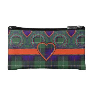 Keith clan Plaid Scottish tartan Cosmetics Bags