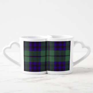 Keith clan Plaid Scottish tartan Coffee Mug Set