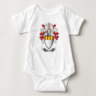 Keith Family Crest Coat of Arms Baby Bodysuit