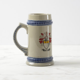 Keith Family Crest Coat of Arms Beer Stein