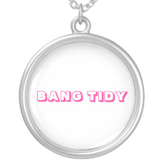 KEITH LEMON '' BANG TIDY '' WORD NECKLACE