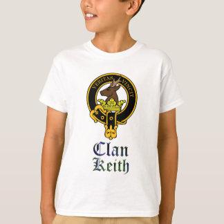 Keith scottish crest and tartan clan name T-Shirt