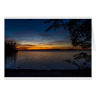 Kejimkujik Sunset Card