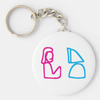 Kekistan In Kek we trust computer Geek logo MAGA Key Ring