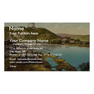 Kelheim and Liberation Hall Bavaria Germany vint Business Card