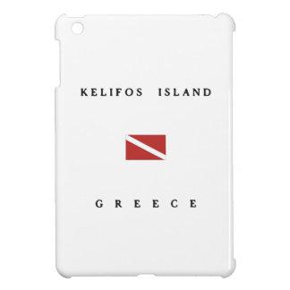 Kelifos Island Greece Scuba Dive Flag Cover For The iPad Mini