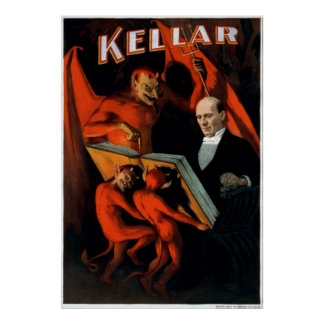 Kellar and his servants posters