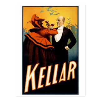 Kellar - Drinks with the Devil Postcard