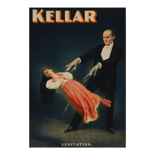 Kellar Levitation 3 Print