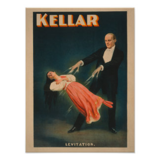 Kellar Levitation Magic Poster #2