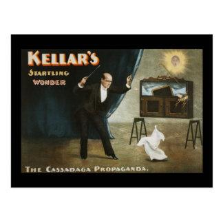 Kellar's startling wonder postcard