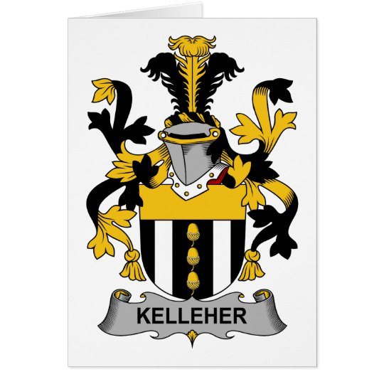 Kelleher Family Crest Card