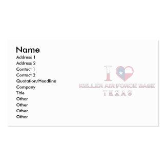 Keller Air Force Base, Texas Business Card Template