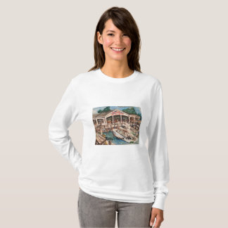 Kelley's Island Marina, Ohio Women's T-Shirt