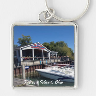 Kelley's Island, Ohio Marina Photo Key Chain