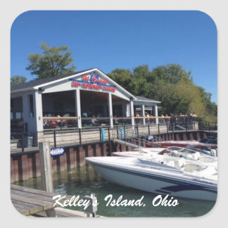 Kelley's Island, Ohio Marina Photo Sticker