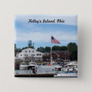 Kelley's Island Portside Marina Ohio button