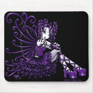 """""""Kelli"""" Purple Fairy Mousepad"""