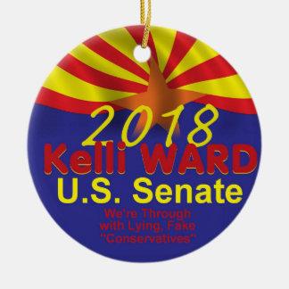 Kelli WARD2018 Senate Ornament