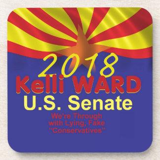 Kelli WARD 2018 Senate Coaster